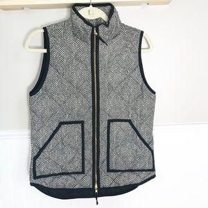 J.Crew Herringbone Vest Size-XS